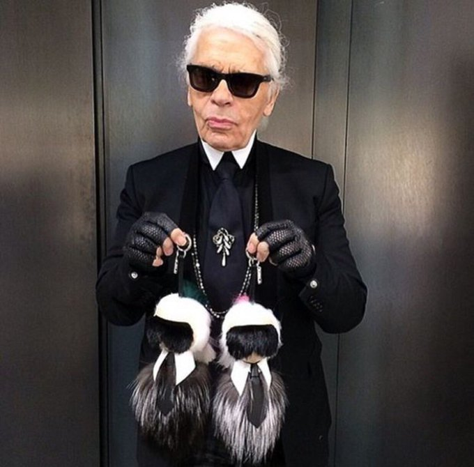 Happy Birthday to Karl Lagerfeld, who turns 84 today. I\m very much down to earth, just not this earth.
