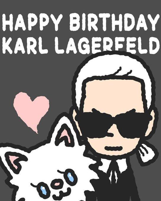 . .:* Happy Birthday, Karl Lagerfeld
