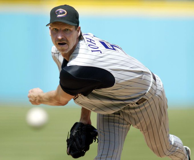 Happy Birthday to my favorite pitcher of all time Randy Johnson