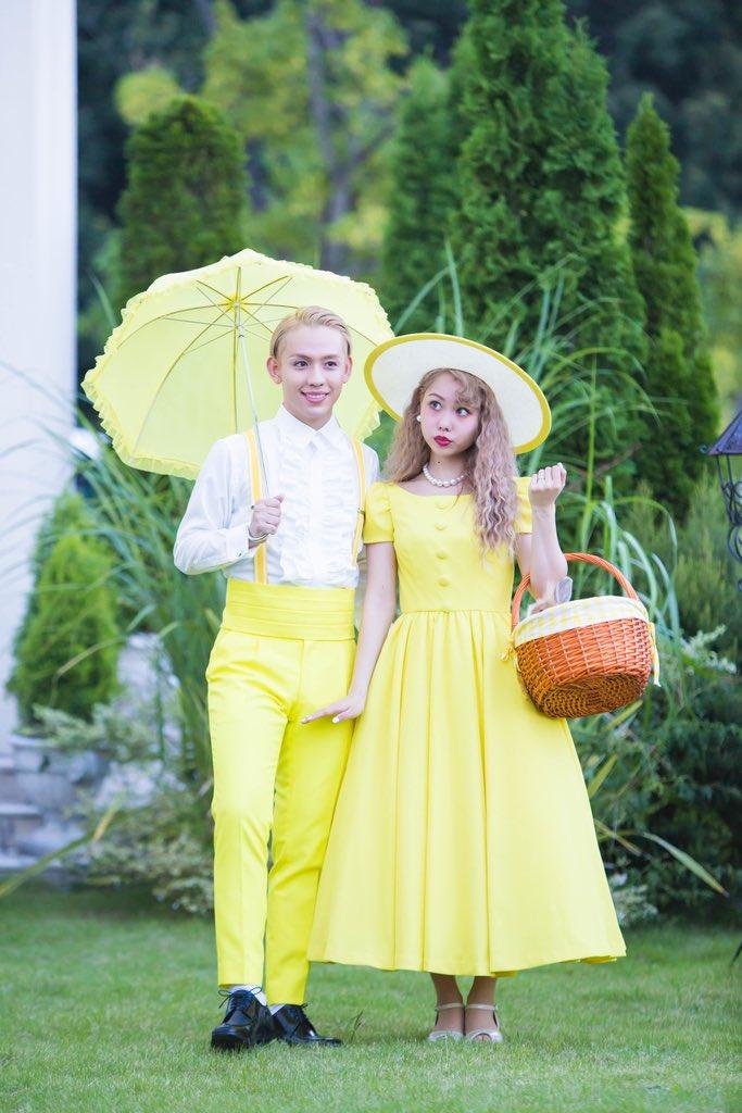 黄色ドレスのぺこ