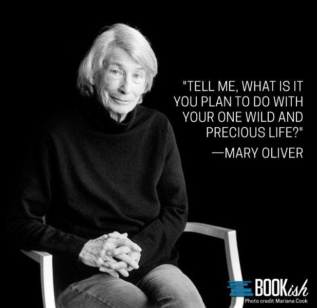 Happy Birthday to beloved poet, Mary Oliver.