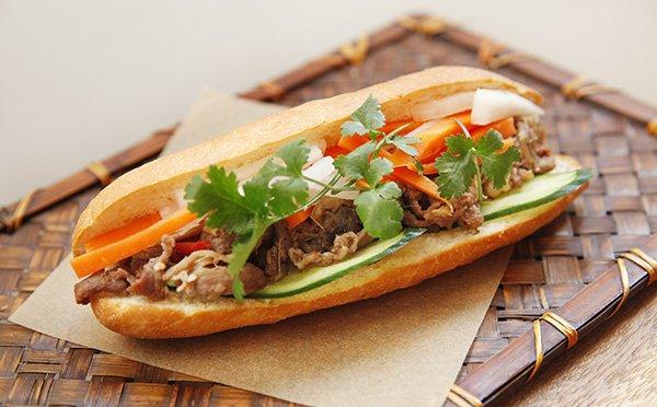 さっぱり美味しい☆ベトナムのサンドイッチ「バイ …