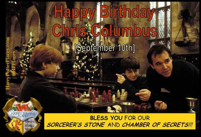 Happy Birthday to Chris Columbus!