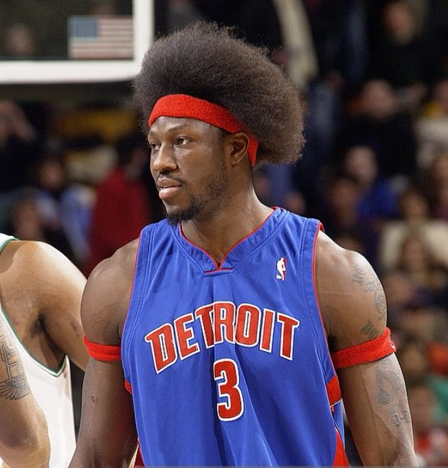 Happy 43rd birthday to Ben Wallace, great and Michigan Sports Hall of Fame, Class of 2016.