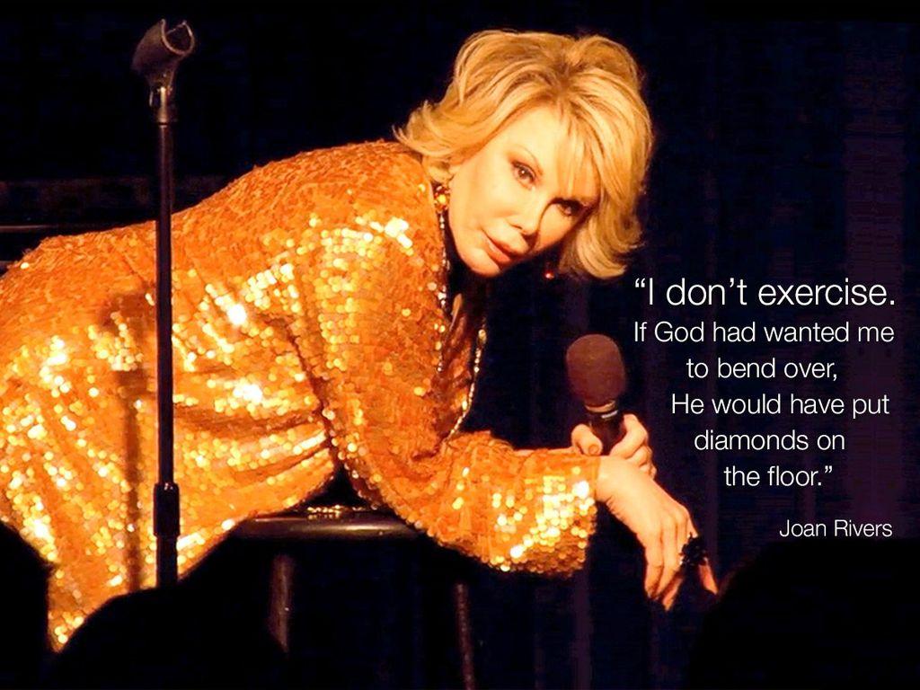 #WordsofJoan #JoanRivers https://t.co/aGVE5geNrj