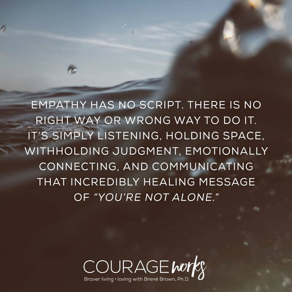 Kriscarr On Twitter You Are Not Alone Courageous One Quotes