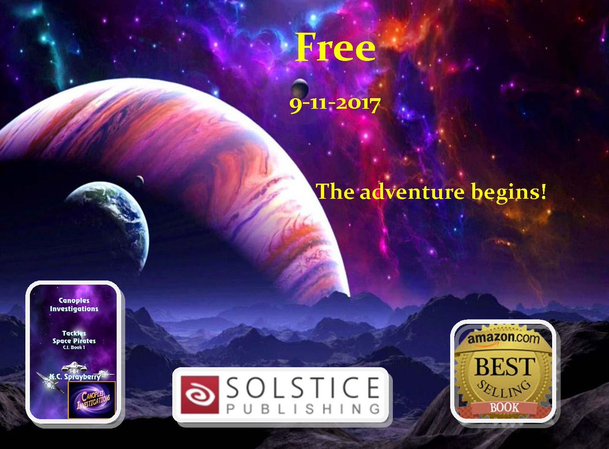 Watch out galaxy.  #scifi  #action  #adventure  @SolsticePublish  http...