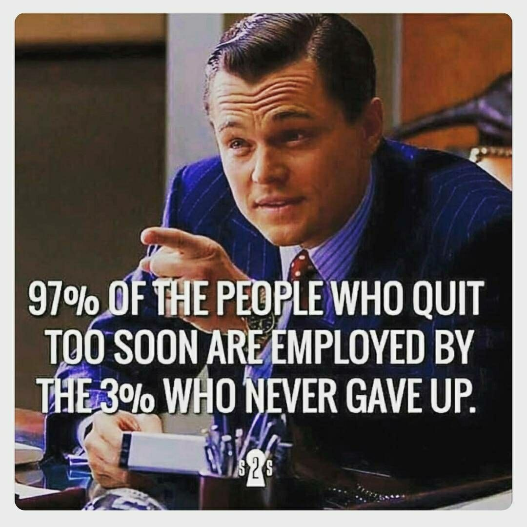 Become one of the 3%. #Entrepreneurship https://t.co/ASzNicXICU