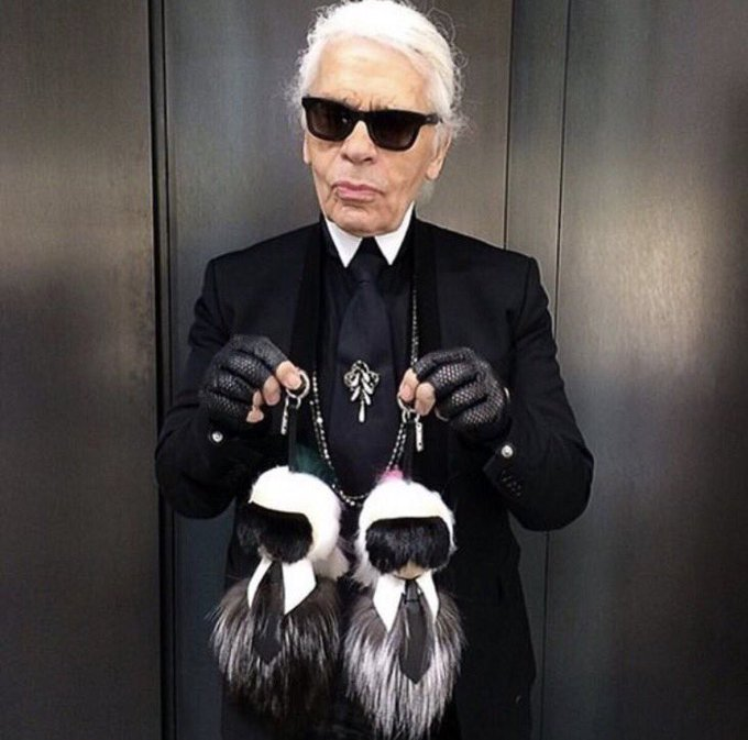 Happy Birthday to style icon Karl Lagerfeld who turns 84 today!