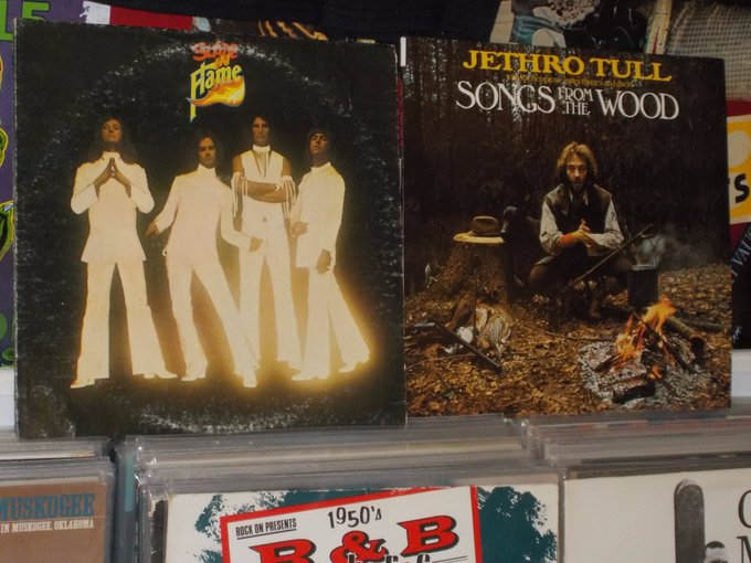 Happy Birthday to Don Powell of Slade & Barriemore Barlow of Jethro Tull