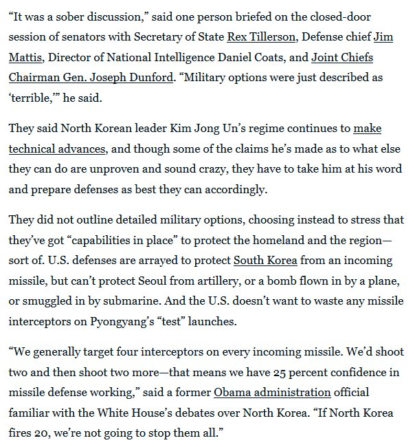 Either is reverse psychology o a due public acknowledge. Trump all-in can be folded or called. #NorthKoreaMissileCrisis <br>http://pic.twitter.com/pIWzjOPXiD
