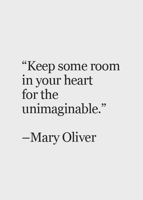 Happy birthday to Mary Oliver