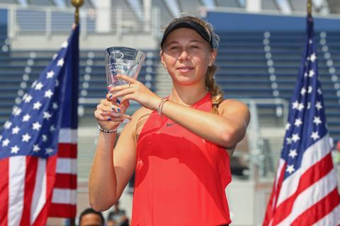 Šestnáctiletá Anisimovová vyhrála juniorku US Open
