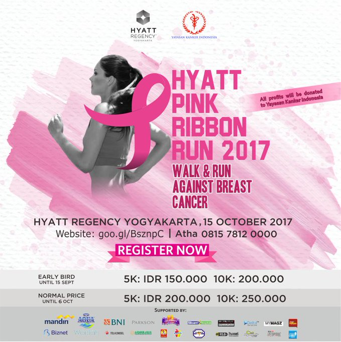 Hyatt Pink Ribbon Run • 2017