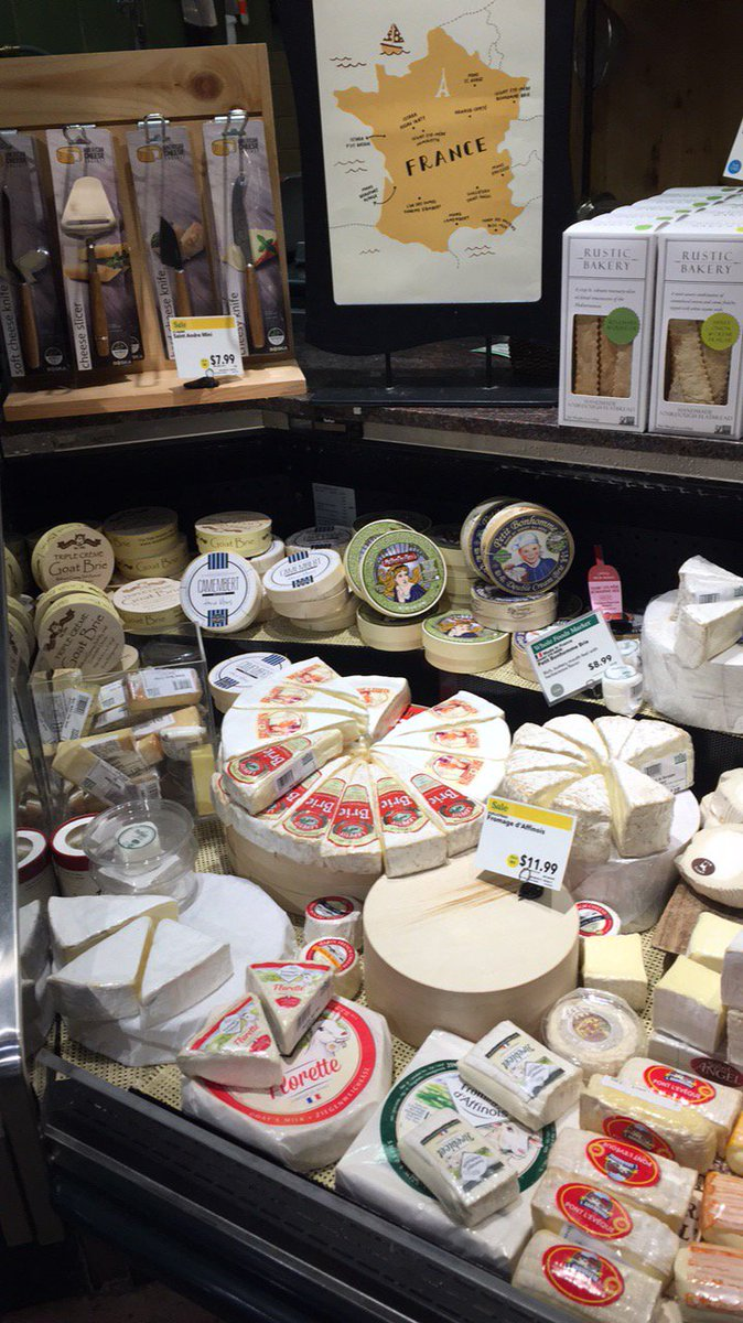 Okay, so @WholeFoods may be bad at #cheese geography, but their cheese section totally makes up for it! #frenchmerveilles #fromage #loveit<br>http://pic.twitter.com/hPfpqk3tNl