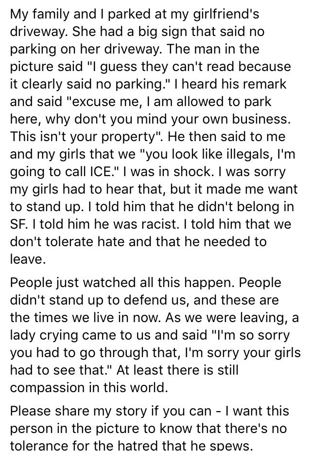 Racism is alive and well in SF y'all https://t.co/B6JpTCB4ls