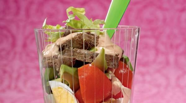 Фото рецепт салат с языком