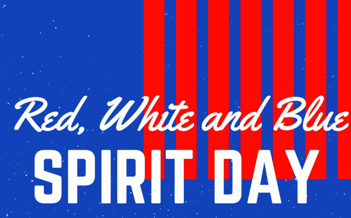"VMHS Renaissance on Twitter: ""Tomorrow is Red, White, and Blue day ..."