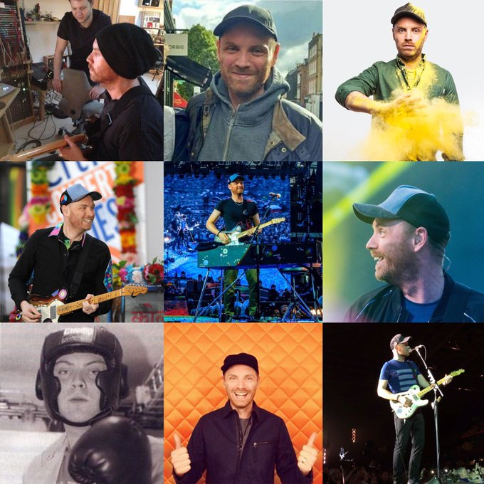 Happy birthday to the cutest guitarist in whole universe AKA Jonny Buckland  Happy birthday cutie
