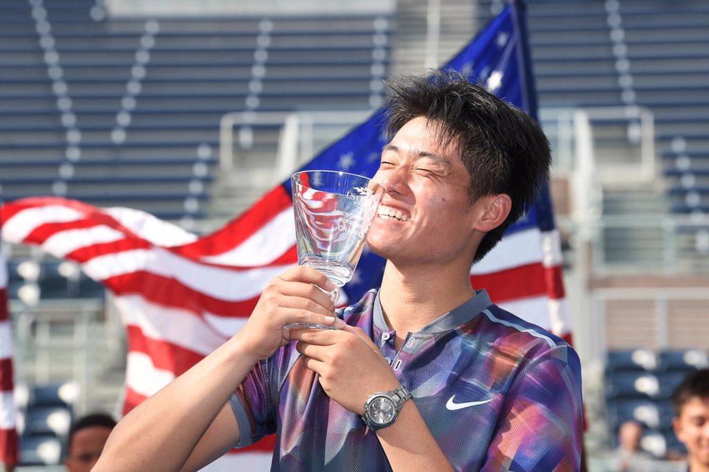 Vítězem chlapecké juniorky se stal Yibing Wu