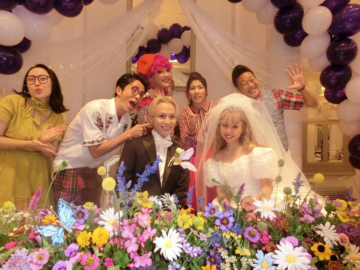 りゅうちぇる&ぺこりんの結婚式最高だった🙌💖 アメリカンな感じでオシャレでそして色々な演出に感動😢💖…