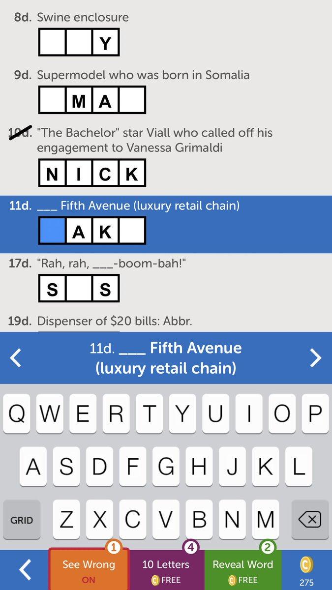 Only crossword