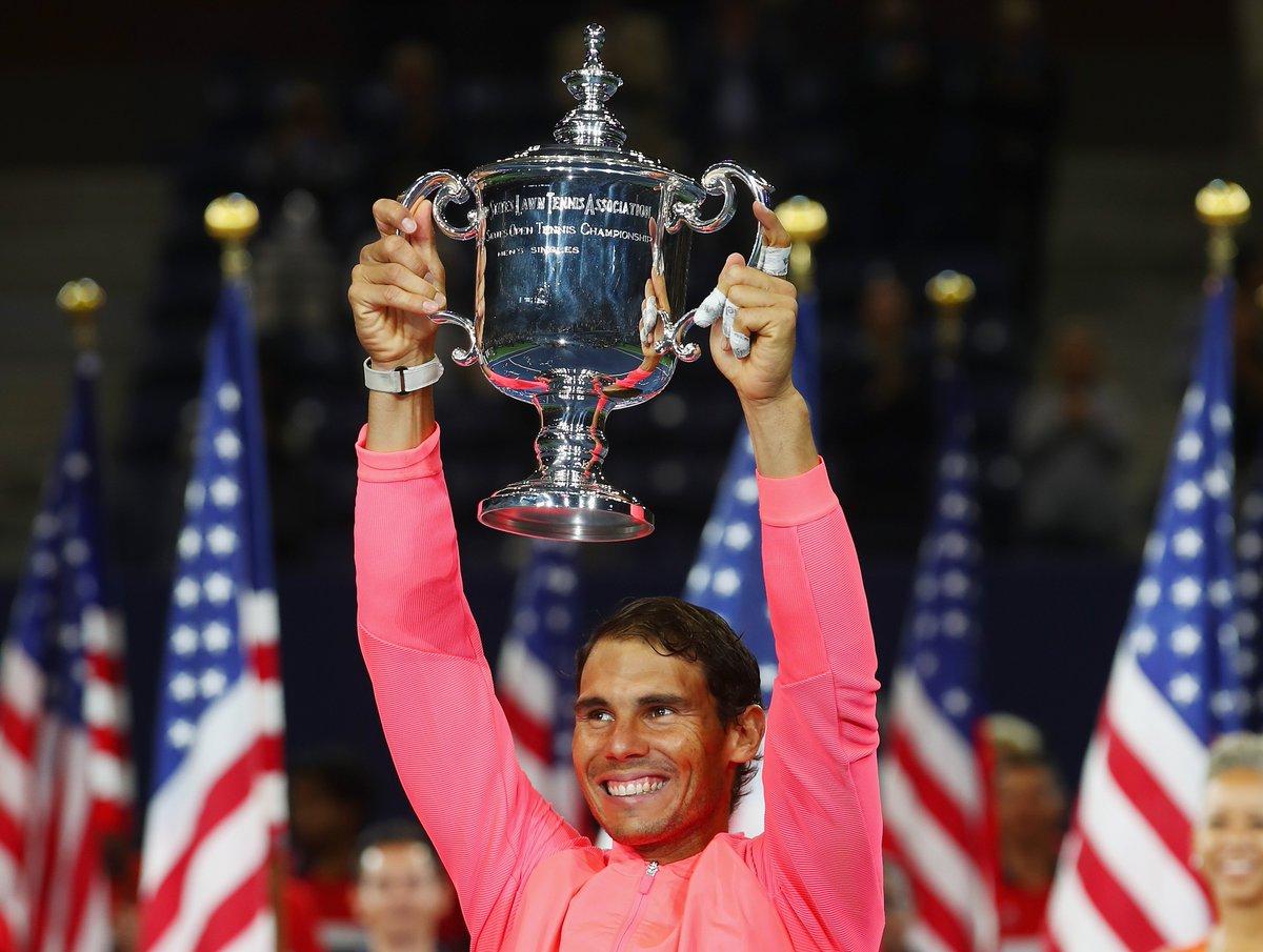 Nadal kromě French Open ovládl i letošní US Open