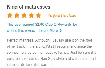 Looking for matress