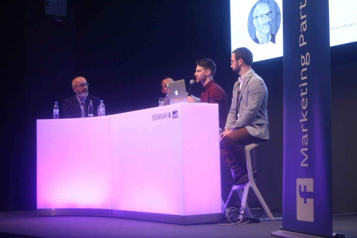 #Dmexco Tech in creative unlocks time for &#39;the big idea&#39;. Thanks for sharing the knowledge! @VidsyHQ @Genero @phospire<br>http://pic.twitter.com/Rn10XX2PgU