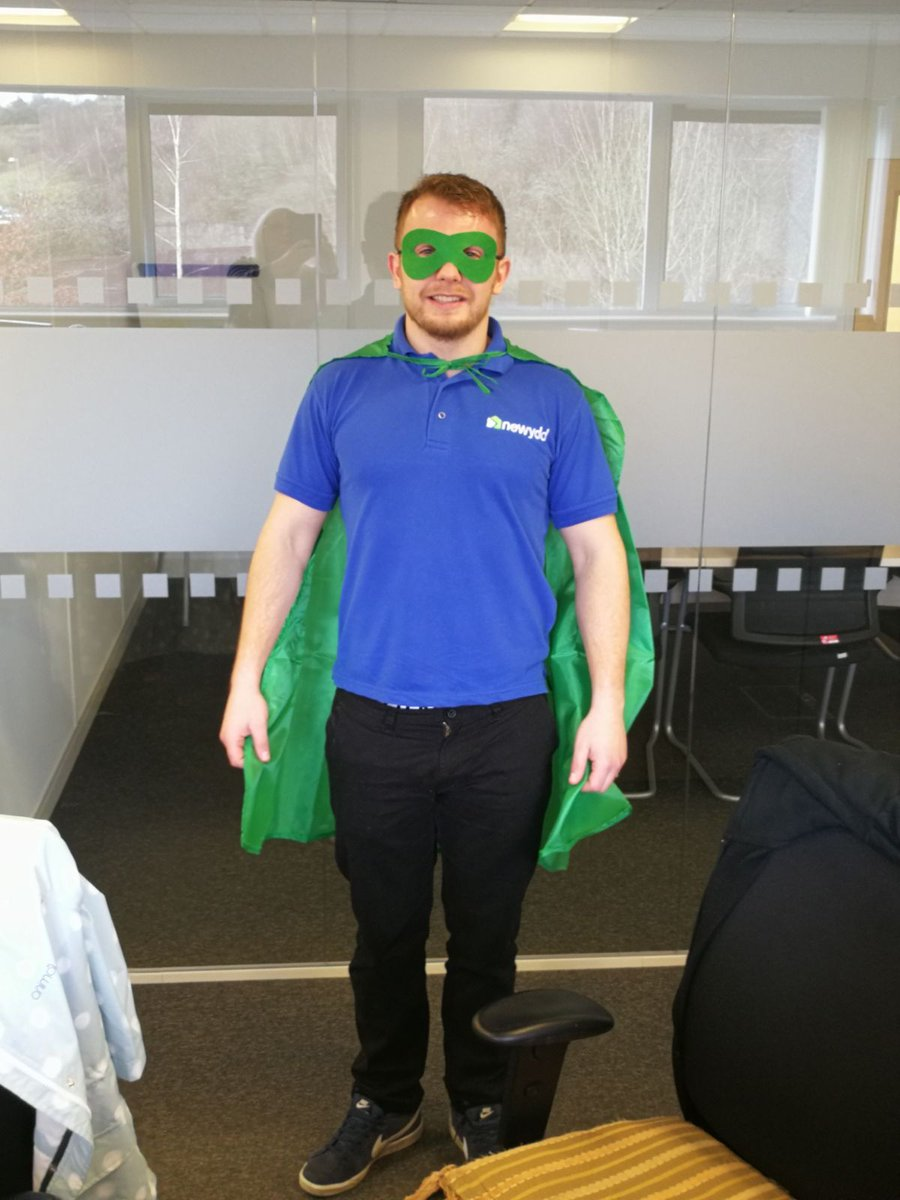 To squash all the rumours, yes I am a superhero @NewyddHousing  #HousingDay #DigitalInclusion #YouthEngagement <br>http://pic.twitter.com/mVZXzLVmLu