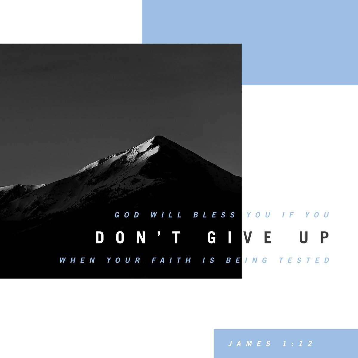 God will bless you, if you don't give up when your faith is being tested. He will reward… https://t.co/RgWhMko4fr https://t.co/9wsFW6MKc0