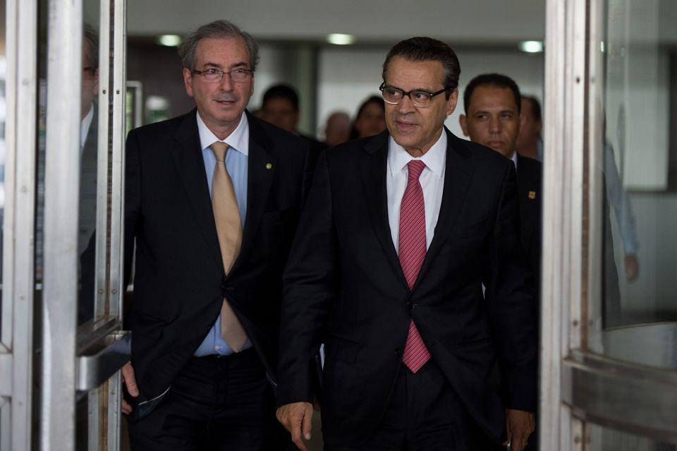 Mais da metade do 'quadrilhão' do PMDB já está presa: Eduardo Cunha, Henrique Alves, Geddel Vieira Lima e Rodrigo Rocha Loures.
