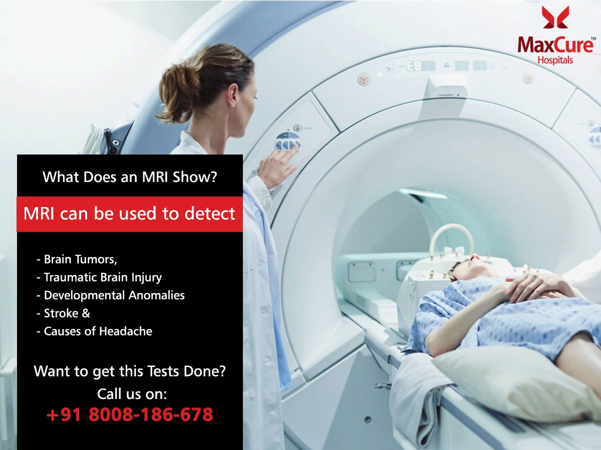 Want to Know What Does an MRI Show? Visit:  http:// maxcurehospitals.com / &nbsp;   #MaxCureHospitals #MRI #Neuro #Neurologist #Brain #MRIBrain #Hyderabad<br>http://pic.twitter.com/yqwCWUpuxZ