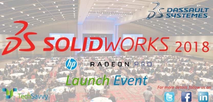 Accelerate #innovation , grow your #business 7 get great #designs get built. #SWLAUNCH18 #SW18 #SOLIDWORKS @SOLIDWORKSIndia @SolidWorksAPAC<br>http://pic.twitter.com/231RHiepts