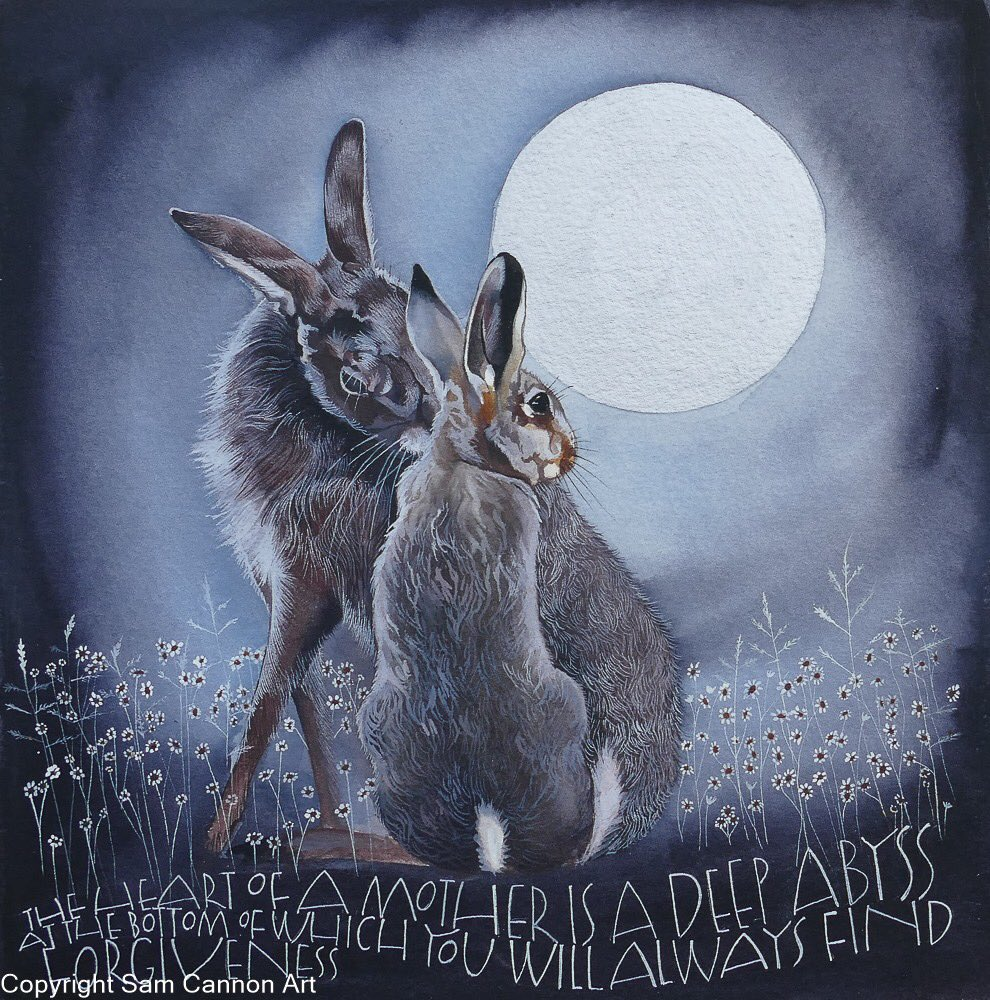 The heart of a mother.... Words by Honore de Balzac #hares #mothers #mothersday #love<br>http://pic.twitter.com/nqX7OKkiZy