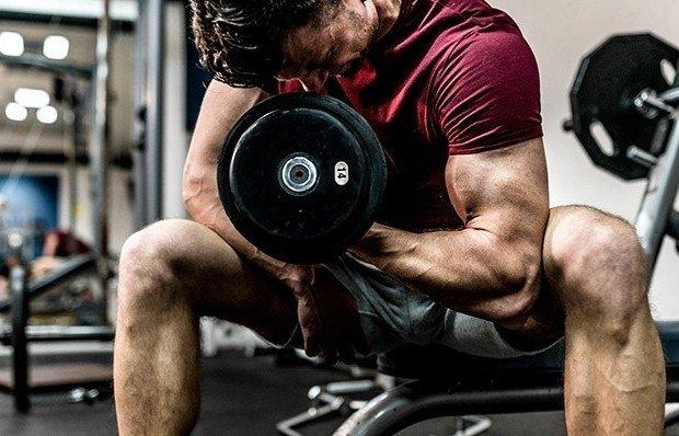 To get bigger biceps