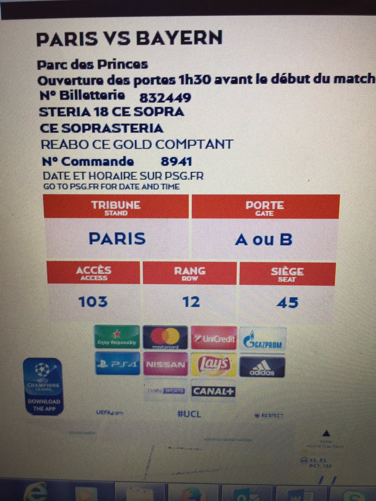 Can&#39;t wait  @PSG_inside #ParisEstMagique #liguedeschampions #PSGBAYERN<br>http://pic.twitter.com/UMtIMHGa6S