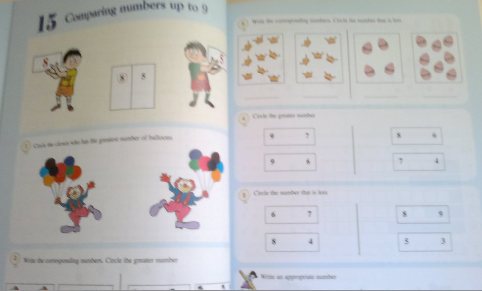In english for grade 2
