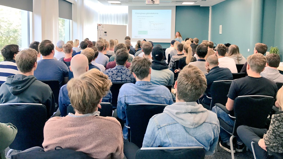 Kick-off with our new students! #LiU #svp #informatik<br>http://pic.twitter.com/dz8fZWuI5a