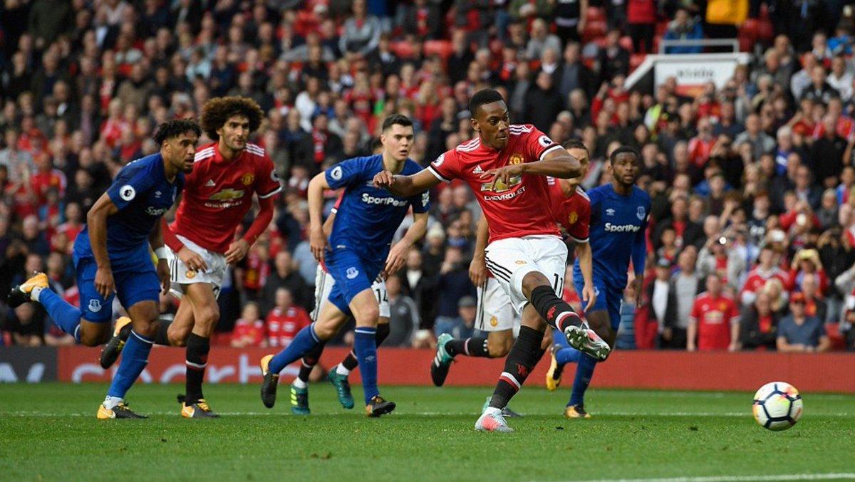 Despite only making a single Premier League start this season, Martial has scored more goals (3) than:  Lacazette Firmino Kane Alli   #MUFC <br>http://pic.twitter.com/HD9WqBpagj