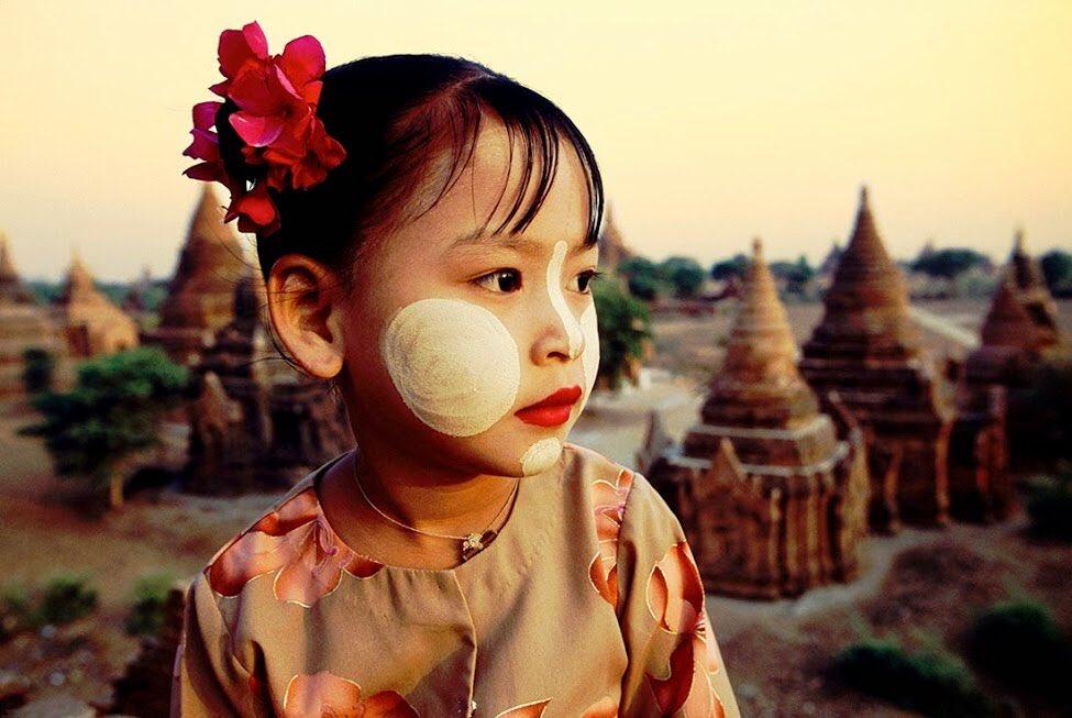 ミャンマー タナカ
