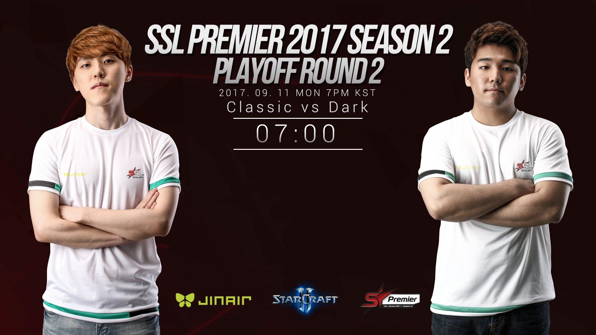 2017 SSL Premier 2. szezon rájátszás: Classic vs Dark