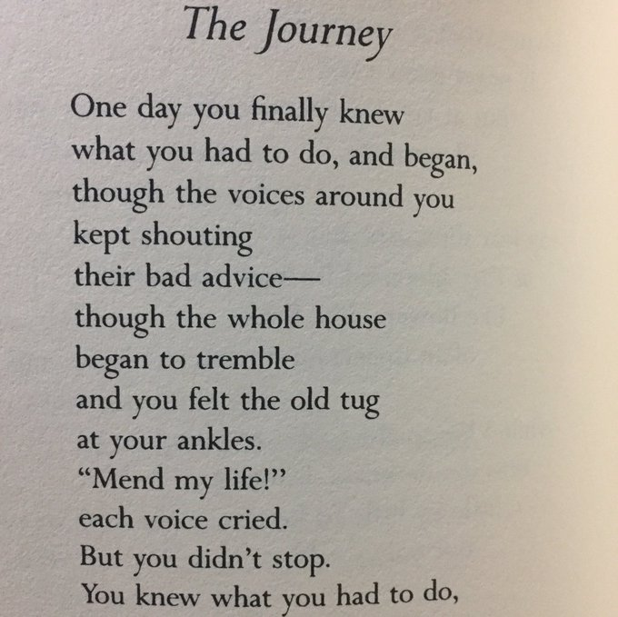 Happy birthday (with 5 minutes to spare) Mary Oliver.