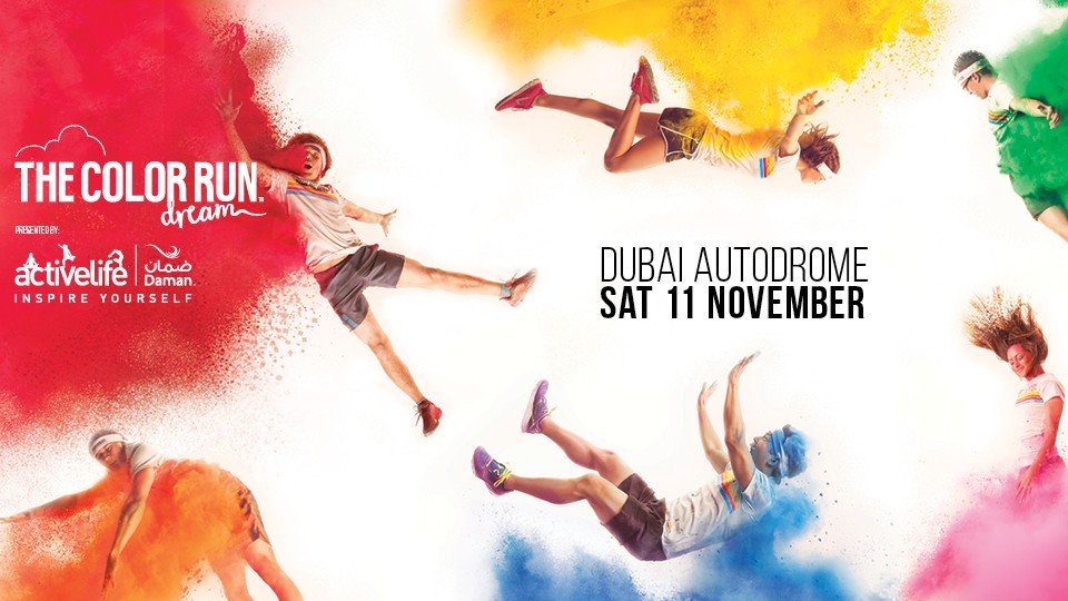 #Dubai's most vibrant run, @TheColorRun , returns for another edition on November 11 at @Dubai_Autodrome https://t.co/bRdOUvQe7q #colorrun https://t.co/odhlLSYi36