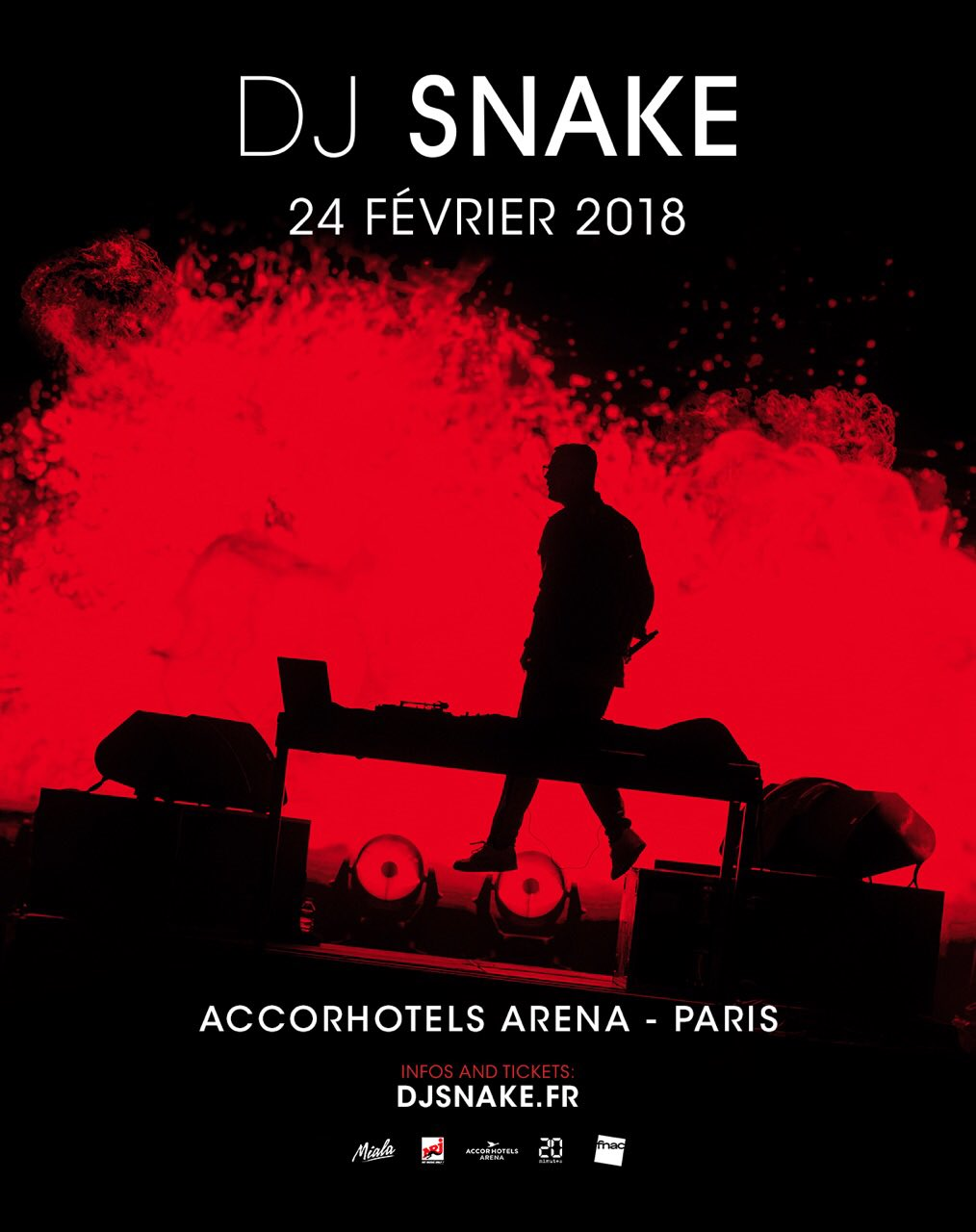 '@AccorH_Arena ���� Samedi 24 Février 2018 Fan Pre-Sale ���� https://t.co/MRS1HQwJ3E https://t.co/utYniapz3k