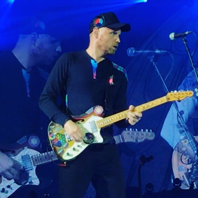 Happy birthday to the best guitar player in the world, our very own Jonny Buckland!