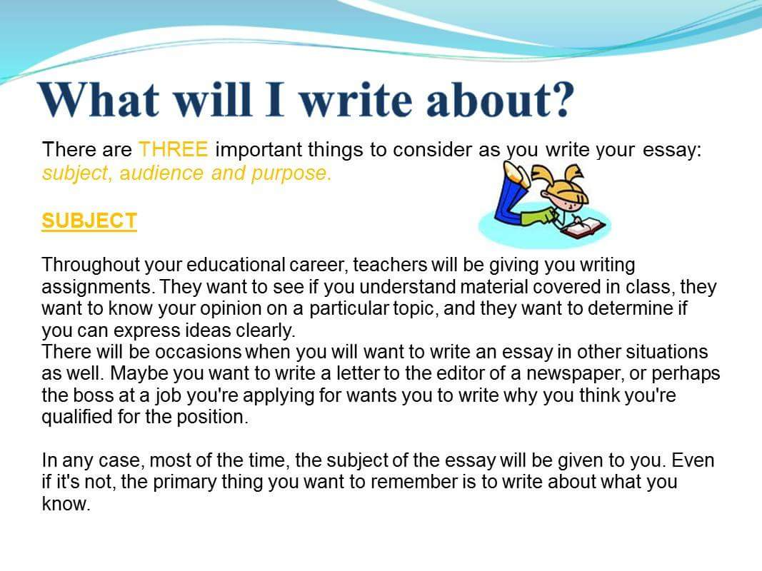 how to write a all about me essay If your assignment is to write a personal essay, you can do it well with these 8 tips for writing a personal essay that shines.