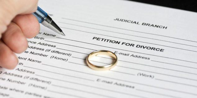 Заявление на развод в загс