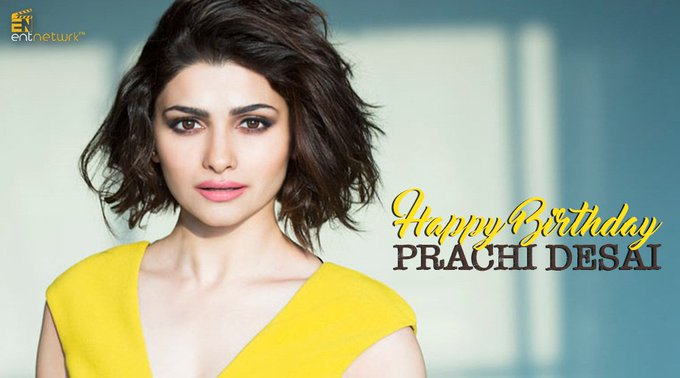We wish Prachi Desai a very Happy Birthday!