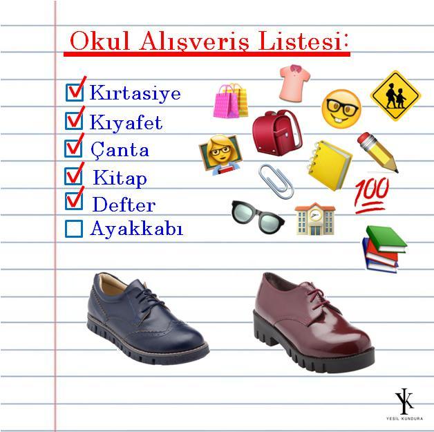 Okul öncesi ayakkabı alışverişinizi https://t.co/DJVRt3QMAL veya Yeşil Kundura mağazalarından yapın, hesaplı ürünleri kaçırmayın! https://t.co/FpzTBWIyva